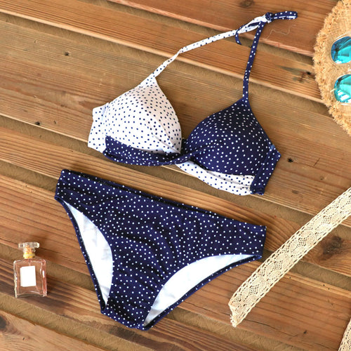 Palm leaf design, Push Up French Bikinis - perfect for Summer