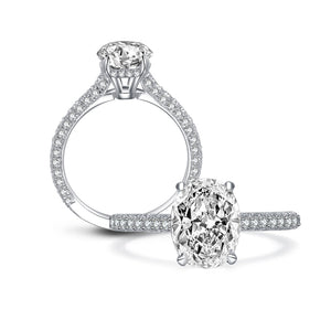 PRINCATA - 2.5 Carat Oval Cut ring
