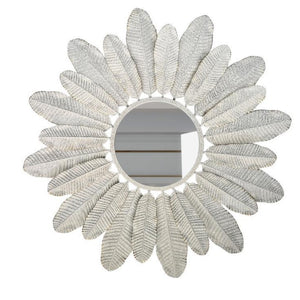 PLUME - large wall art mirror