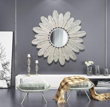 Load image into Gallery viewer, PLUME - large wall art mirror