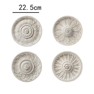 Handmade French Antique Flower Relief Wall art collection