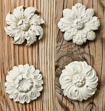 Load image into Gallery viewer, Handmade French Antique Flower Relief Wall art collection