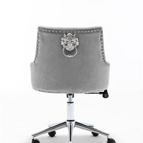 Velvet  High Back Office chair