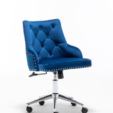 Load image into Gallery viewer, Velvet  High Back Office chair