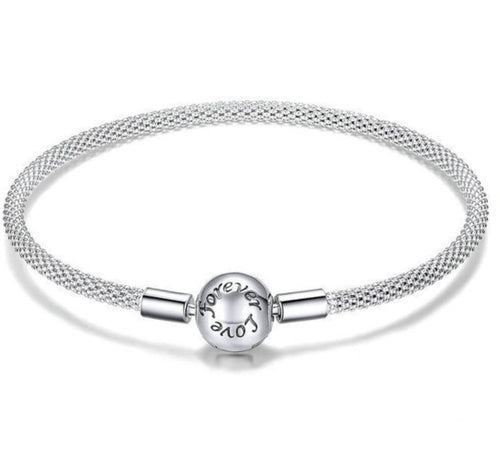 Top Rated Love Forever Snake chain bracelet