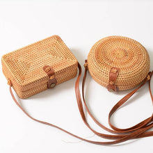 Load image into Gallery viewer, Paris by day - Rattan bag
