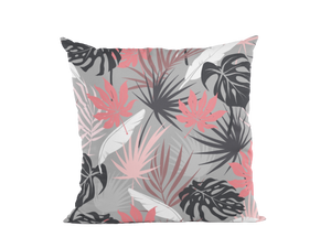 SUNSET PALMS Linen cushion covers