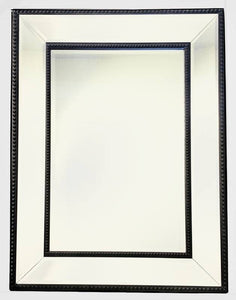 Traditional Mirror Black Frame