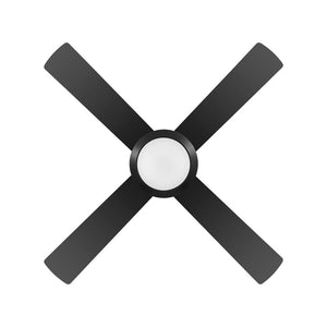 BONDI 48 BLACK LED 18W CCT AC ABS CEILING FAN