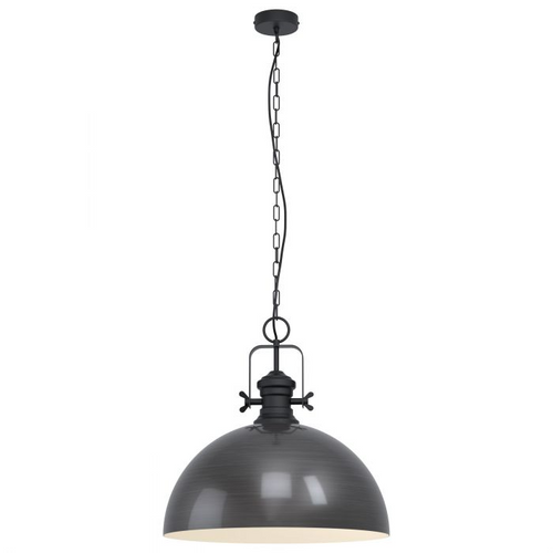 COMBWICH Pendant 530mm BLACK STEEL & CRM LARGE