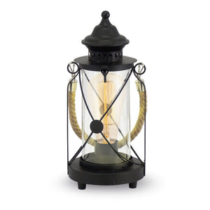 Bradford Table Lamp Black 49283