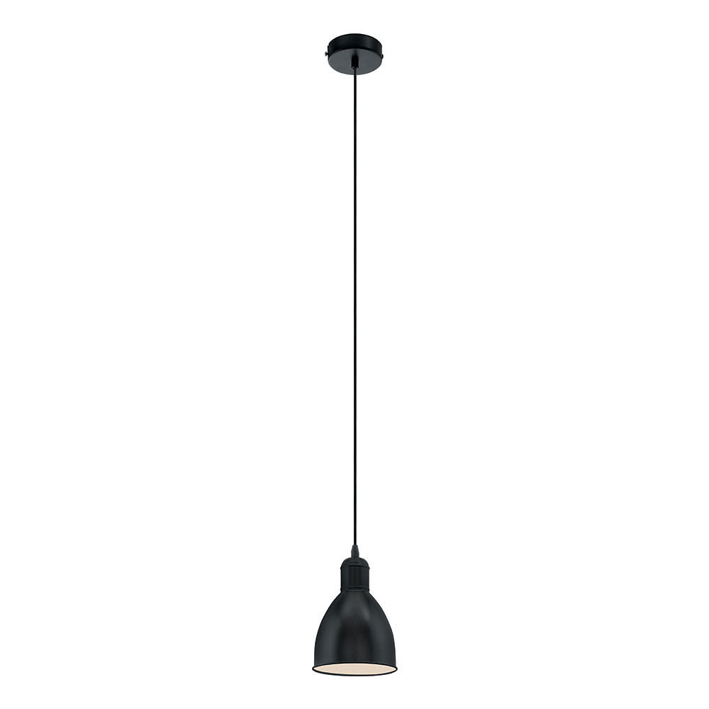 Priddy 1Light Pendant Black 49464