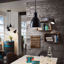Load image into Gallery viewer, Priddy 1Light Pendant Black 49464