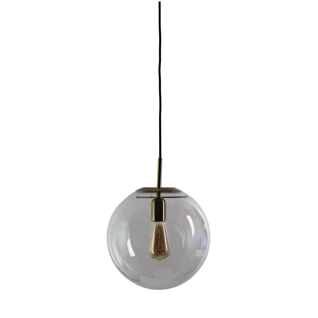 Newton.30 Pendant Brushed Brass