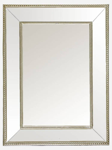 Traditional Mirror White/Silver Frame