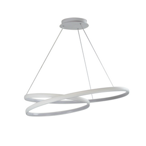 Infinity LED Pendant White