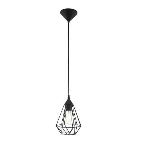 Tarbes Small 1Lt Black Pendant 94187
