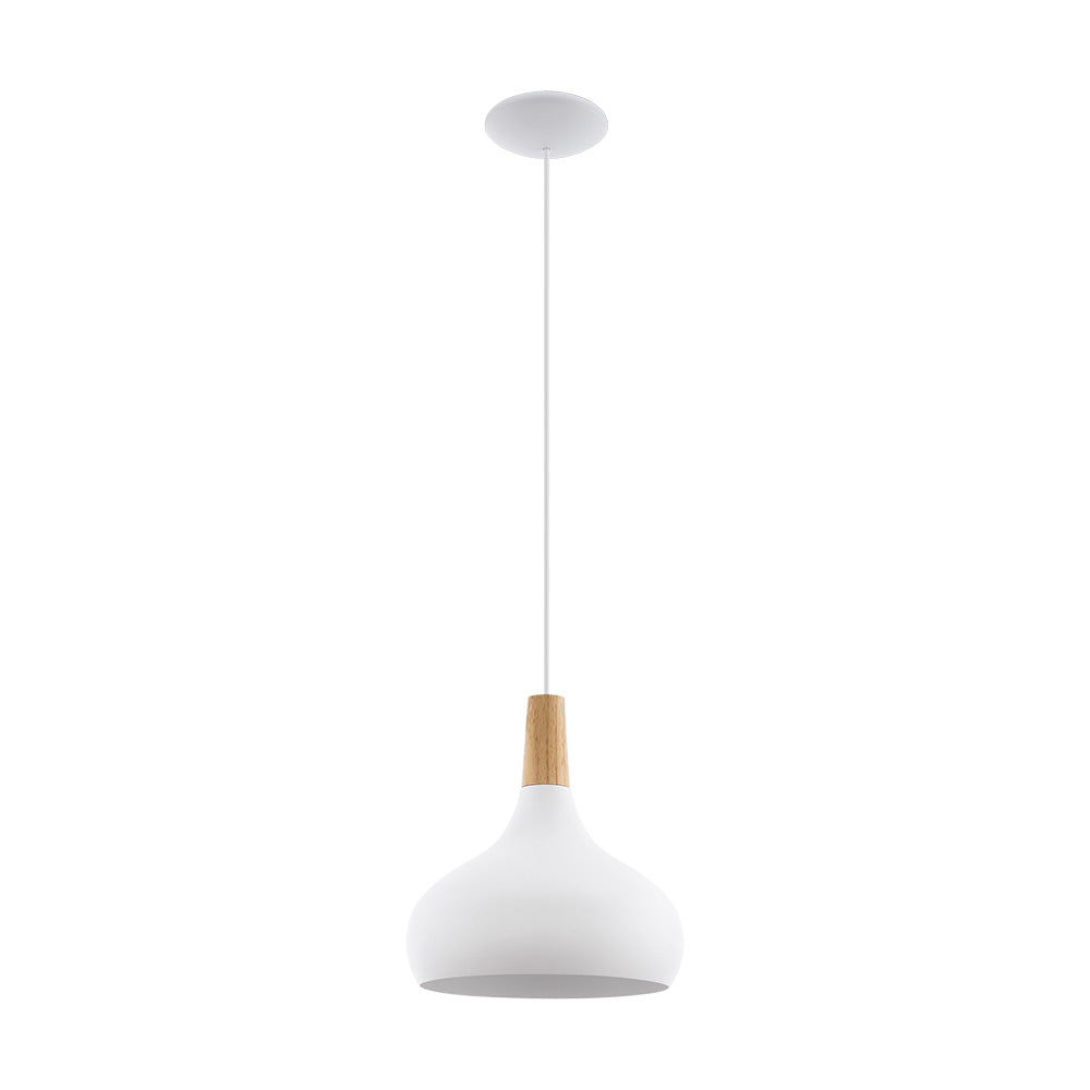 Sabinar Meduim White/Timber Metal 96982