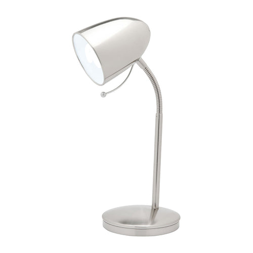 Sara Desk Lamp Brushed Chrome A13011Bc