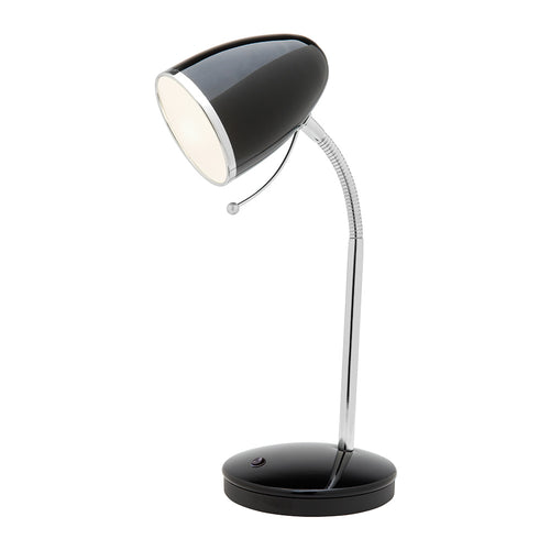 Sara Usb E27 Table Lamp A13011 Black
