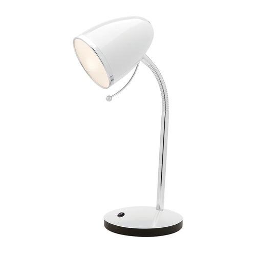 Sara Usb E27 Table Lamp A13011 White