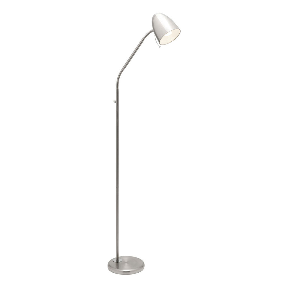 Sara Floor Lamp Brushed Chrome A13021Bc
