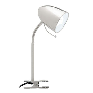 Sara Clamp Lamp Brushed Chrome A13041Bc
