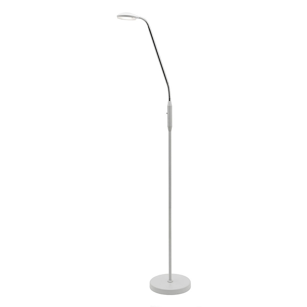 Dylan 6W Led Floor Lamp White A19421Wh