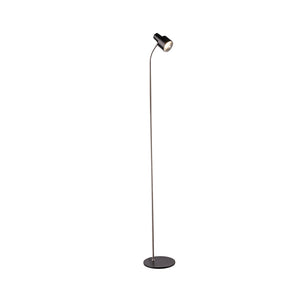 Celeste Floor Lamp Matt Black and Bc
