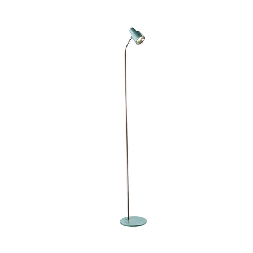 Celeste Floor Lamp Dusted Jade and Bc