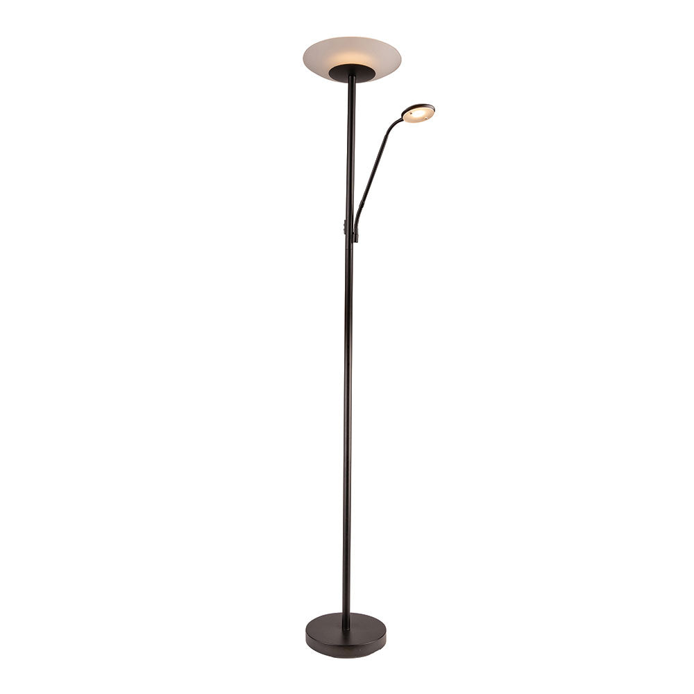 Emilia Mother And Child Floor Lamp Blk