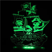 Load image into Gallery viewer, Night Light Pirate Dream Light