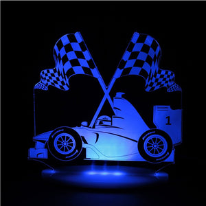 Night Light Racecar Dream Light