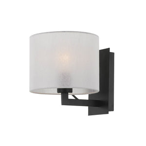 Elgar Wall Bracket Black and White Shade