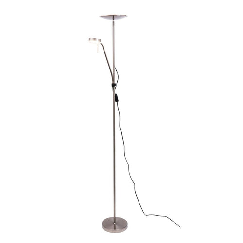 Georgia Brushed Chrome M/C Floor Lamp