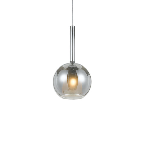 Lapin Pe-Sm Smoke/Chrome Pendant