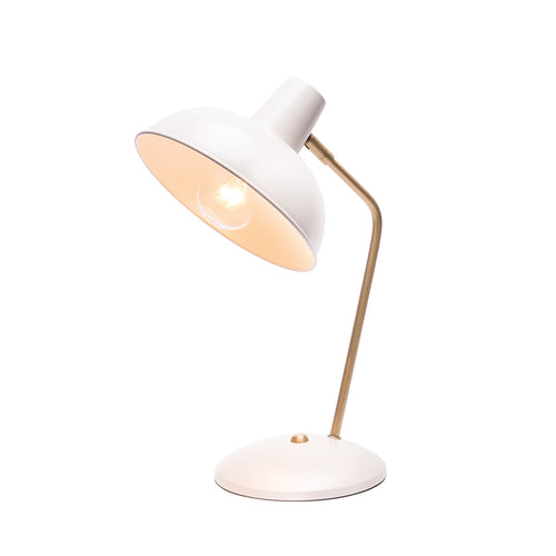 Lucy Table Lamp Complete White