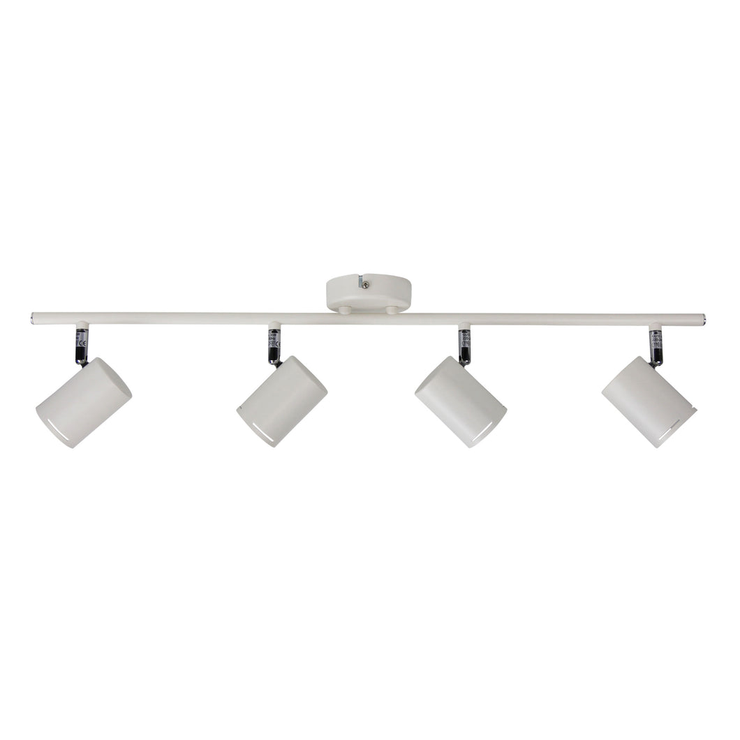 BARIL 4 LIGHT GU10 SPOT MATT WHITE