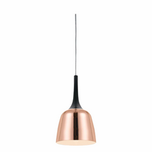 Load image into Gallery viewer, Polk PE20 Small Pendant Black and Copper Metal