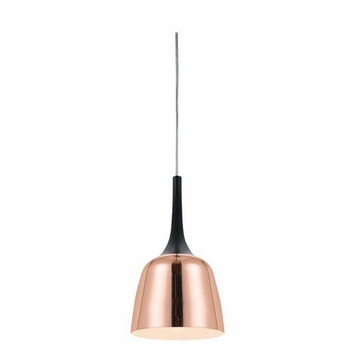 Polk PE20 Small Pendant Black and Copper Metal