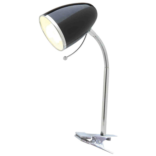 Sara Clamp Lamp Black A1304Blk