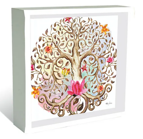 Tree of Life Print Shadow Box