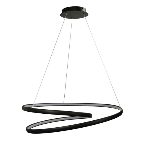 INFINITY LED PENDANT BLACK
