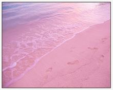 Load image into Gallery viewer, Peachy Beach Artwork (80 x 100)
