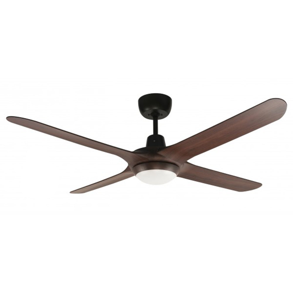 SPYDA 56 1400mm 4 Blade Walnut with LED light