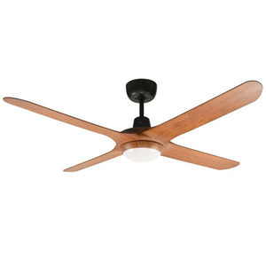 SPYDA 50 1250mm 4 Blade Teak with LED light