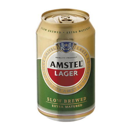 Amstel Lager 24x33cl can