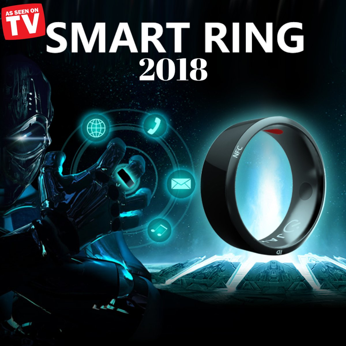 AS SEEN ON TV -SMART RING-