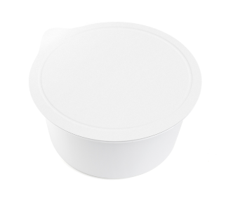 portion cup ; small disposable container for sauce ; sauce container