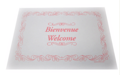 Napperon - Bienvenue (Placemats)